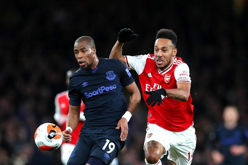 Aubameyang impressed Arteta with his defensive work rate Photo: Getty Images