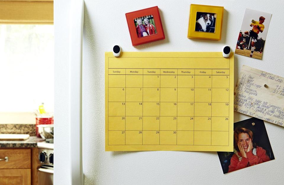 <p>As 2019 is coming to a close, it's safe to say that it's time to get rid of your old calendar. As soon as you get a 2020 calendar or planner, throw away your old one to make room.</p>