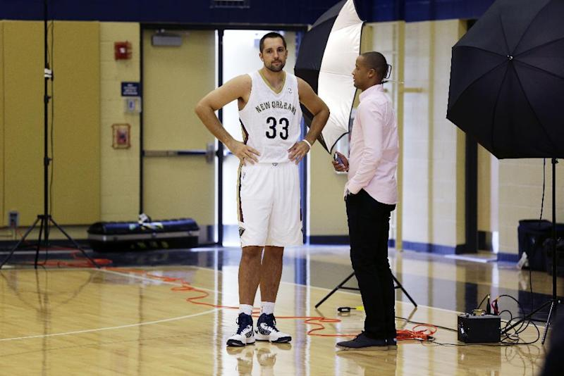 Grieving Anderson says re-joining Pelicans helps