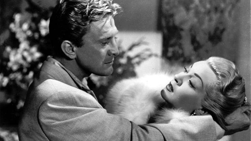 Kirk Douglas and Lana Turner in 'The Bad and the Beautiful'. (Credit: MGM)