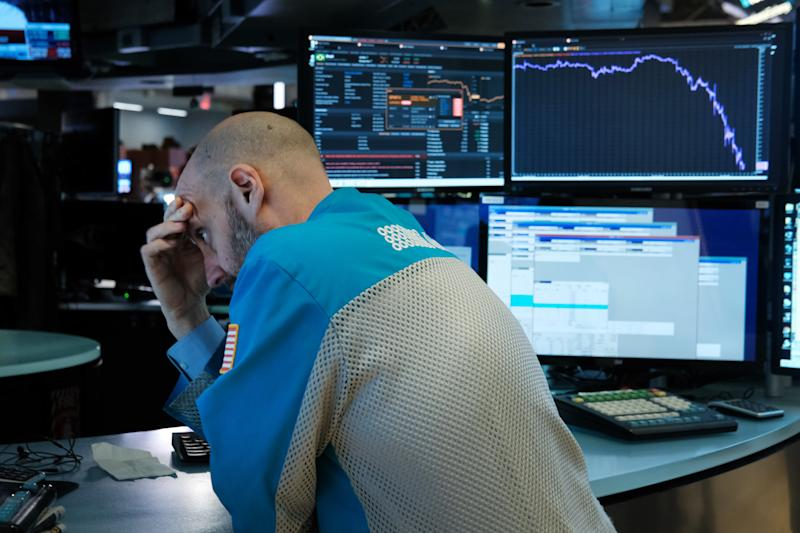 Trading Temporarily Halted Yet Again During Market Hours, As Dow Dips Below 10 Percent During Intraday Trading