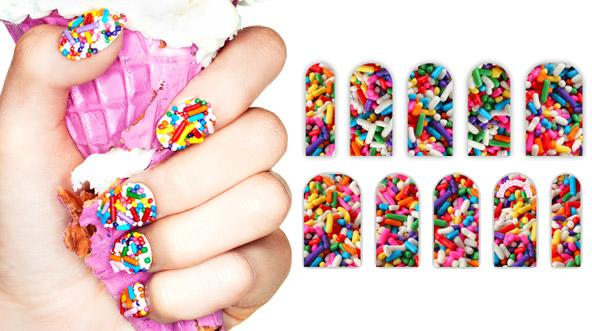 Sprinkle Nails Made Easy With Nail Tattoos