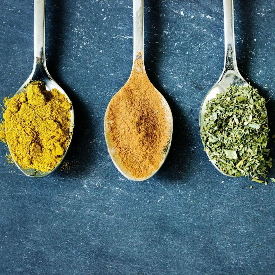 <p>It might be time to clean out your spice drawer, because your freezer is not the place to store these seasonings. The flavor can change in items like pepper, garlic and clove when frozen, so a cool, dry cabinet is the ideal storage spot.</p>