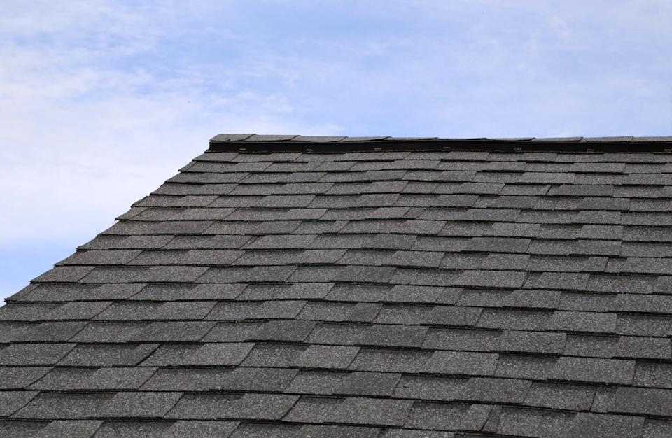 <em>Trapped – Ron Easton was trapped on his roof for three days (Picture: Getty)</em>