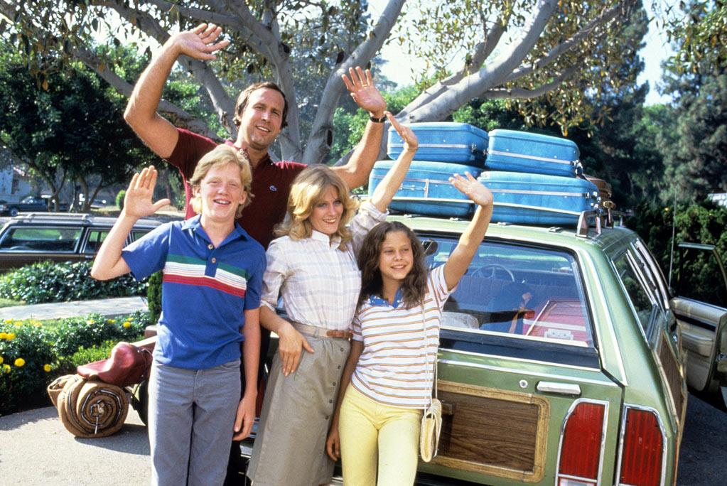 NATIONAL LAMPOON'S VACATION   Starting Point: Chicago, IL   Ending Point: Walley World, California   Goal: A Quest for Fun   Snags: Wrong turns, car stripped, lunch befowled, elderly relative passed away. And the place is closed.