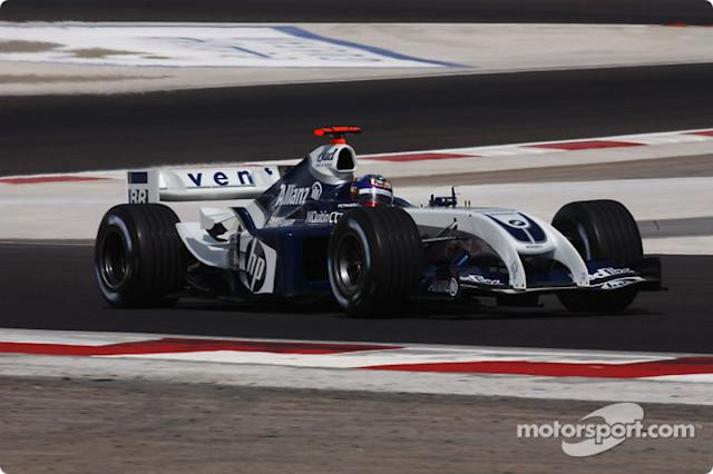 "2004: Williams-BMW FW26 <span class=""copyright"">BMW AG</span>"