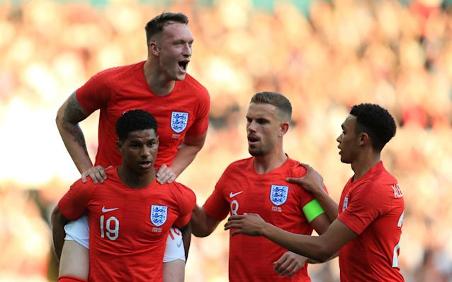 """World Cup 2018 is with us at last and the England squad - picked, according to Gareth Southgate, to excite the nation - are preparing for a group that includes a favourite, an undefeated qualifier and a team that provided one of the stories of the tournament just by qualifying. When Southgate revealed his 23-man squad much of the focus landed on Adam Lallana, the big-name omission, who had to make do with the standby list. But Southgate believes, with the likes of Harry Kane, Raheem Sterling, Dele Alli and Ruben Loftus-Cheek, his young England squad offers plenty of encouragement. """"I believe this is a squad which we can be excited about,"""" said Southgate. """"We have a lot of energy and athleticism in the team, but players that are equally comfortable in possession of the ball and I think people can see the style of play we've been looking to develop. """"It is a young group, but with some really important senior players so I feel the balance of the squad is good, both in terms of its experience, its character and also the positional balance."""" Dreamt of going to a World Cup since I was a kid. Today that dream come true, an honour to represent the 3 Lions this summer! �� @Englandpic.twitter.com/e6c8agtVar— Trent Arnold (@trentaa98) May 16, 2018 Who made England's 23-man squad? Here's who will feature in England's World Cup squad: Goalkeepers: Jack Butland (Stoke), Jordan Pickford (Everton), Nick Pope (Burnley). Defenders: Trent Alexander-Arnold (Liverpool), Gary Cahill (Chelsea), Fabian Delph (Manchester City), Phil Jones (Manchester United), Harry Maguire (Leicester), Danny Rose (Tottenham Hotspur), John Stones (Manchester City), Kieran Trippier (Tottenham Hotspur), Kyle Walker (Manchester City), Ashley Young (Manchester United). Midfielders: Dele Alli (Tottenham Hotspur), Eric Dier (Tottenham Hotspur), Jordan Henderson (Liverpool), Jesse Lingard (Manchester United), Ruben Loftus-Cheek (Chelsea). Forwards: Harry Kane (Tottenham), Marcus Rashford (Manchester United), Raheem"""