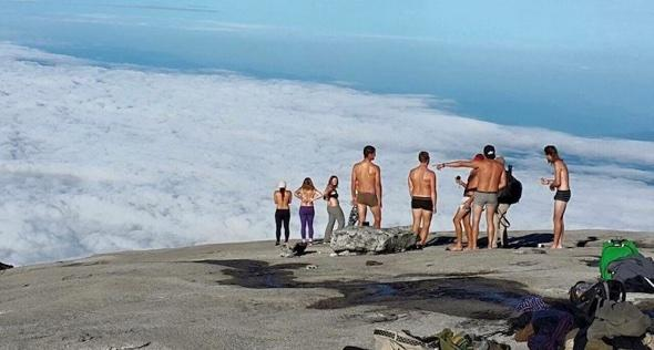 British tourist facing jail for stripping naked on Malaysia mountain