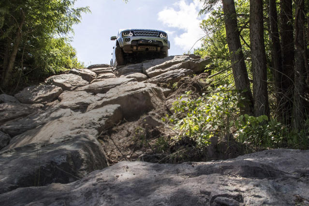 Monticello Motor Club's off-road course (Credit: MMC)
