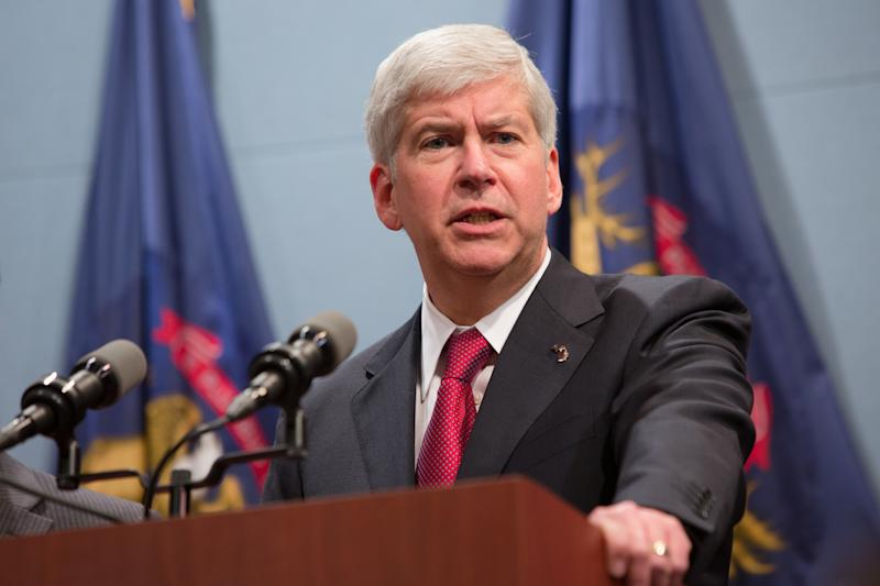 Outgoing Republican Gov. Rick Snyder is expected to sign the gutted bill. (Julie Dermansky via Getty Images)