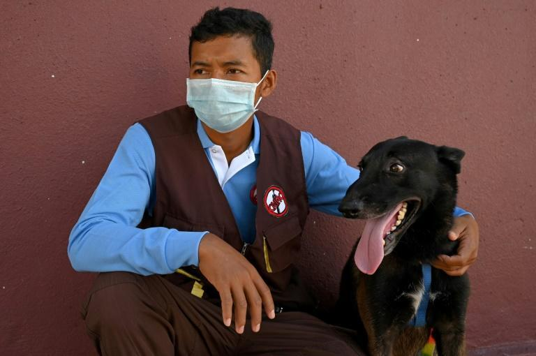 CMAC staff said the budding virus-hunters have a few months left in their training regime (AFP/TANG CHHIN Sothy)