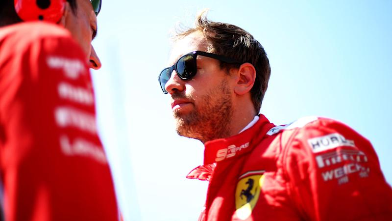 Sebastian Vettel was fuming after being stripped of the Canadian GP win.