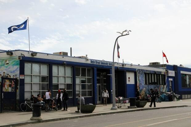 Boyle Street Community Services houses one of Edmonton's three supervised consumption sites. The site was closed in fall but will be permanently shut at the end of April.  (Josee St-Onge/CBC - image credit)
