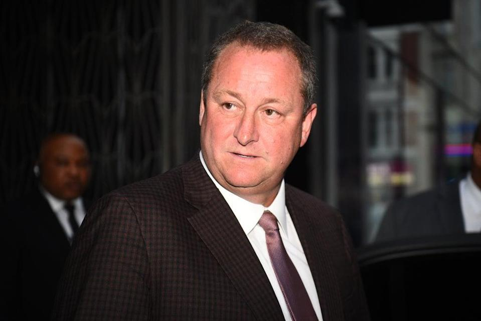 Mike Ashley will remain as an executive director at Frasers Group after he steps down as chief executive (Kirsty O'Connor/PA) (PA Wire)