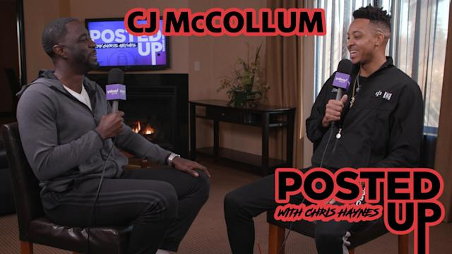 Portland Trail Blazers guard CJ McCollum joins Chris Haynes on the latest episode of Posted Up.