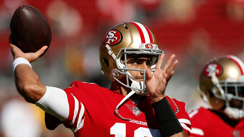 49ers fear QB Garoppolo suffered torn ACL