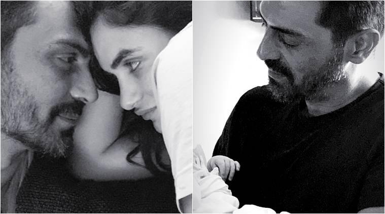 arjun rampal son first photo