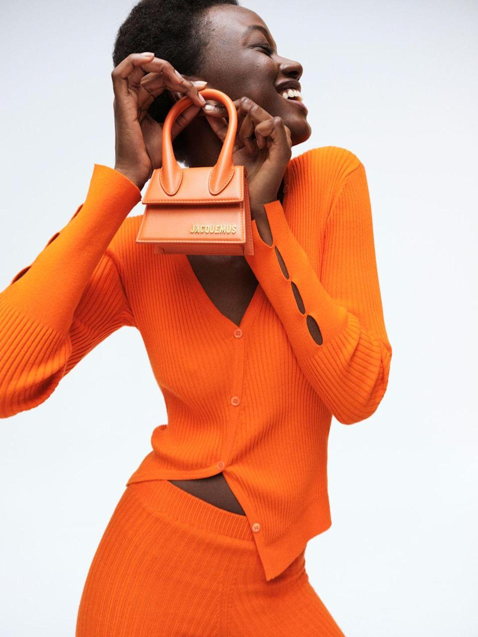 """<p><strong>Who:</strong> MyTheresa</p><p><strong>What:</strong> Capsule collaboration with Jacquemus</p><p><strong>Where:</strong> Online only at MyTheresa.com</p><p><strong>Why:</strong> French fashion designer Simon Porte Jacquemus has developed a signature aesthetic rooted in feminine, French, and flirty silhouettes and fabrics. Online retailer MyTheresa is launching an exclusive 13-piece Jacquemus capsule collection just in time for the hottest months of the year. Jacquemus' classic colorings of vibrant orange and hot pink take life in linen blazers, shorts, cropped shirts, knits, and mini-dresses that are breathable, sexy, and easily transition from the beach to the bar. The iconic Chiquito bag is also reimagined in these two colors to complete the French girl fantasy.<br></p><p><a class=""""link rapid-noclick-resp"""" href=""""https://go.redirectingat.com?id=74968X1596630&url=https%3A%2F%2Fwww.mytheresa.com%2Fen-us%2Fdesigners%2Fjacquemus.html%3FOSS%3DWL-Jacquemus&sref=https%3A%2F%2Fwww.elle.com%2Ffashion%2Fshopping%2Fg36597382%2Fthe-launch-june-2021%2F"""" rel=""""nofollow noopener"""" target=""""_blank"""" data-ylk=""""slk:SHOP NOW"""">SHOP NOW</a></p>"""