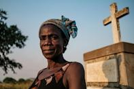 Margaret Labol, 50, lost 15 family members and her husband, a Ugandan soldier, during the Lukodi massacre