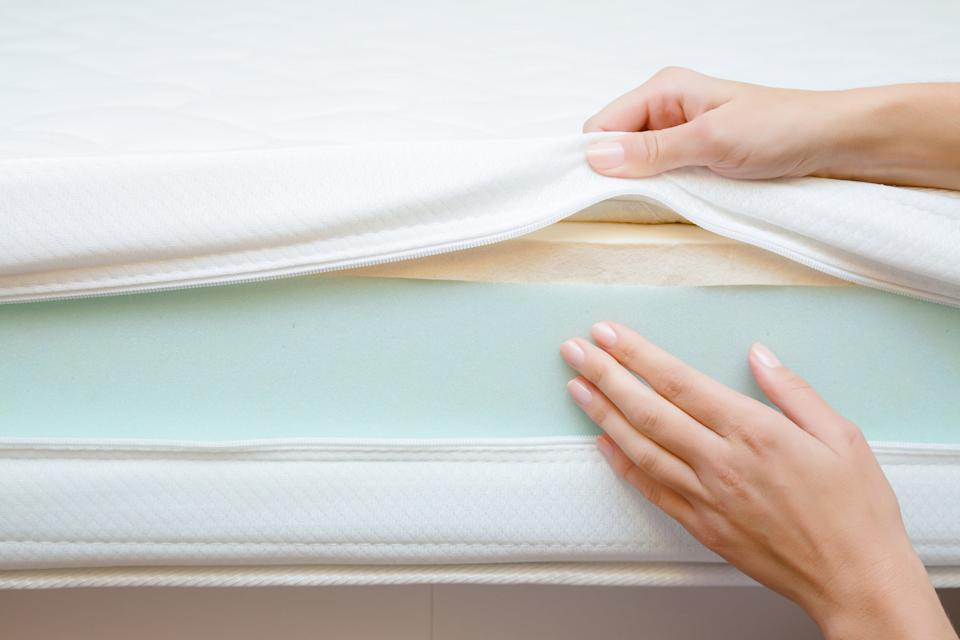 Using a mattress protector will mean that you don't need to clean your mattress as oftenGetty Images