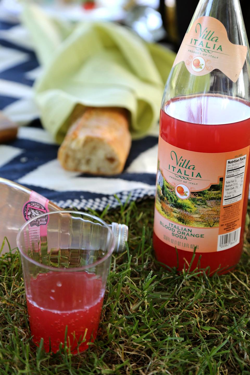 <p>Time to toss it back! Be sure you have enough cups for your beverages so no one has to sip them out of the bottles. If you're bringing beer or wine, double check that you have bottle openers before you embark on your picnic. </p>