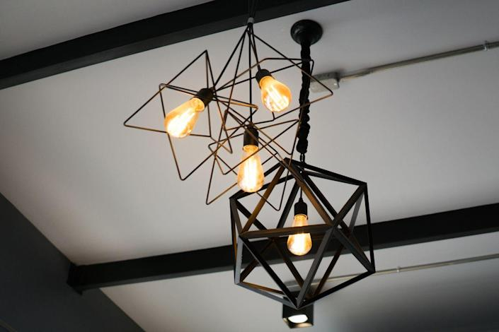 <p>Just like ceiling fans, light fixtures can accumulate dust and grime. </p><p><strong>How to clean</strong>: Dusting is probably sufficient. Use a damp cloth or microfiber towel (nothing too wet, as it could get into the electrical unit). If you really want to clean it, just use warm water with a little gentle soap and clean carefully. Make sure the light has been off for at least an hour so the bulb isn't hot. </p>