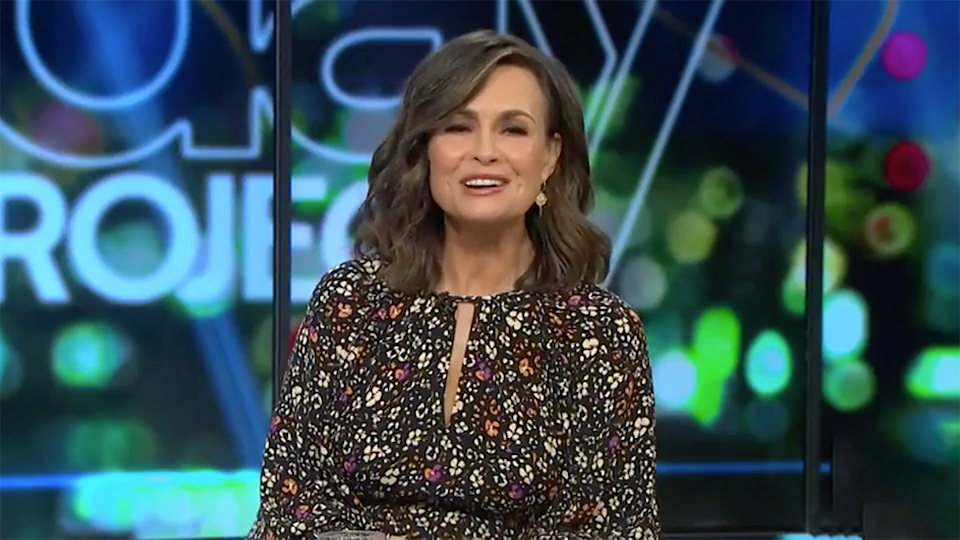 Lisa Wilkinson The Project live mic gaffe