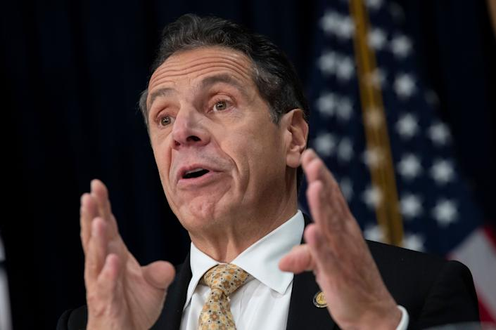 On Monday, New York Gov. Andrew Cuomo announced his support for legalizing recreational marijuana. (Photo: Drew Angerer via Getty Images)