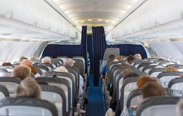 Avoid the back if you hate turbulence. Photo: Getty