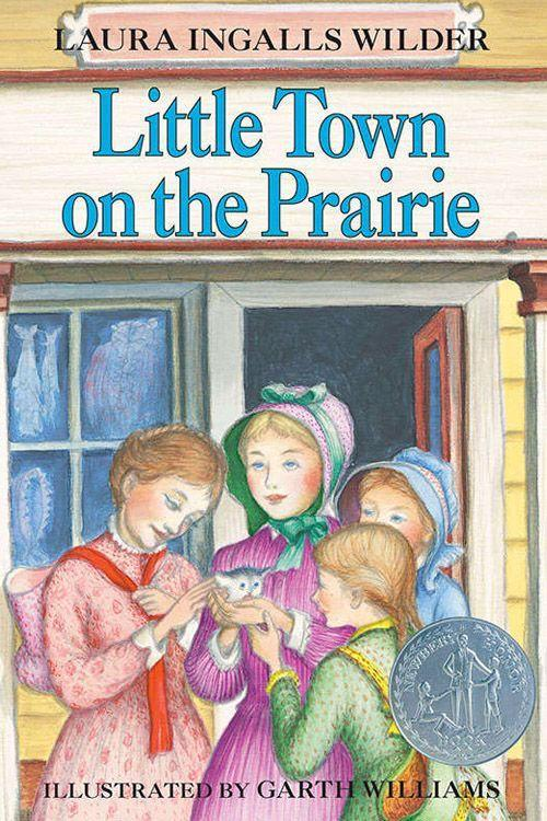 """<p><strong><em>Little Town on the Prairie</em> by Laura Ingalls Wilder</strong></p><p><span class=""""redactor-invisible-space"""">$7.49 <a class=""""link rapid-noclick-resp"""" href=""""https://www.amazon.com/Little-Town-Prairie-House/dp/0064400077/ref=tmm_pap_swatch_0?tag=syn-yahoo-20&ascsubtag=%5Bartid%7C10063.g.34149860%5Bsrc%7Cyahoo-us"""" rel=""""nofollow noopener"""" target=""""_blank"""" data-ylk=""""slk:BUY NOW"""">BUY NOW</a> </span></p><p><span class=""""redactor-invisible-space"""">The seventh book in the<em> Little House</em> series, <em>Little Town on the Prairie</em> takes place in De Smet, South Dakota, and it won the John Newbery Medal in 1942.<span class=""""redactor-invisible-space""""> Wilder writes about her first paid job outside the home at the age of 15. By the end of the book, in order to help her blind sister, she becomes a schoolteacher to help pay </span></span>for her sister's tuition at the Iowa School for the Blind. </p>"""