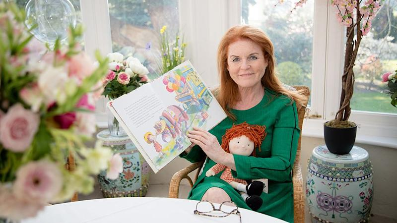 Sarah Ferguson has been gardening and running a storytime during lockdown