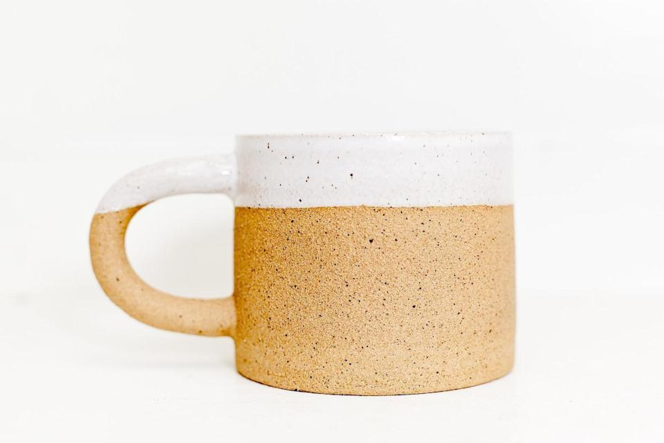 <p>The <span>Dipped Clay Mug</span> ($26) is incredibly chic and perfect for those who like to keep it minimalistic.</p>