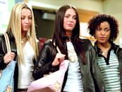 <p>Carla and her friends had leather jackets, polos, graphic tees, and the rest of the accessory essentials in 2004's <b>Confessions of a Teenage Drama Queen</b>.</p>