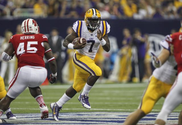 LSU coach Les Miles wants to lower expectations for five-star running back Leonard Fournette
