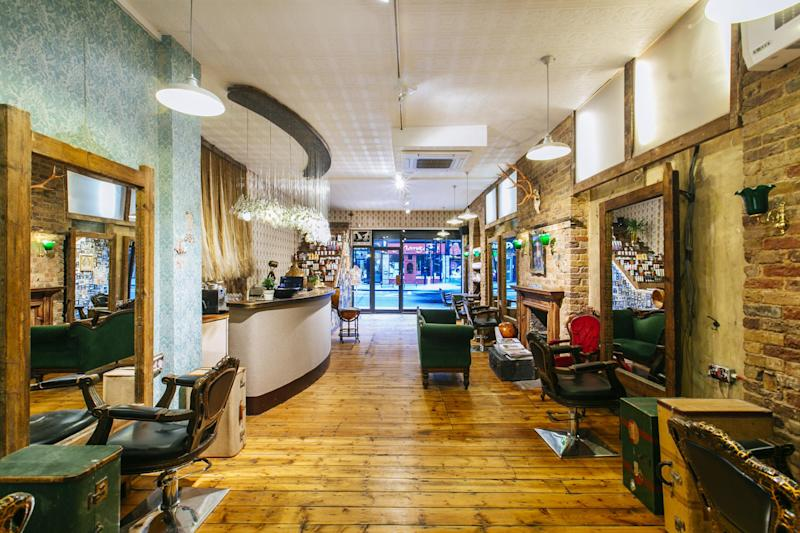 Blue Tit's flagship Dalston salon boasts interiors you'll want to get on the 'gram