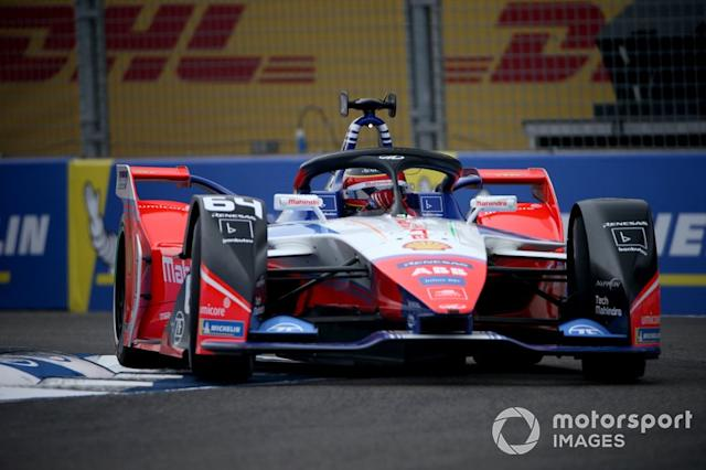 """Jérôme d'Ambrosio, Mahindra Racing, M6Electro <span class=""""copyright"""">Dom Romney / Motorsport Images</span>"""