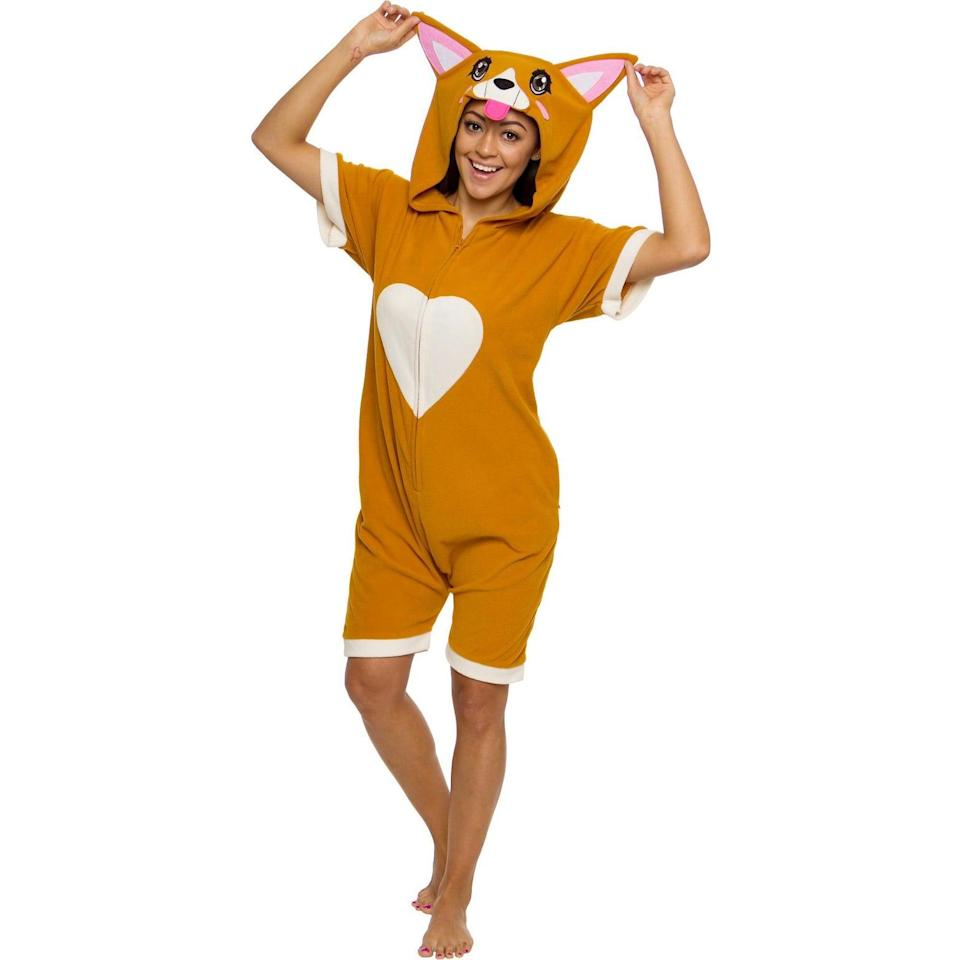 <p>How cute is this <span>FUNZIEZ! Corgi Women's Short Sleeve Novelty Romper</span> ($30)!? It's a comfy romper that's comfortable and adorable. </p>