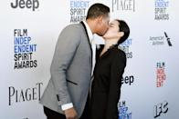 <p>Terrence Howard makes out big-time (Photo: Getty Images) </p>