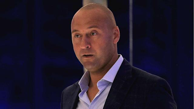 """Derek Jeter: """"It would be an awkward situation for me to actually go to Yankee Stadium."""""""