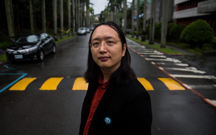 Audrey Tang, Taiwan's digital minister, is an expert on countering disinformation - Billy H.C. Kwok/Polaris/Eyevine