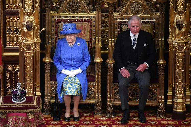 The queen shunned her normal pomp and ceremony for the speech