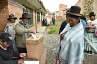 Bolivia VP says vote on Morales re-election a tie, too early to call