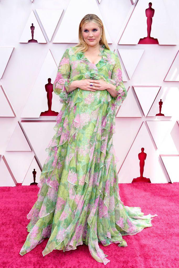 <p>In whimsical Gucci. </p>