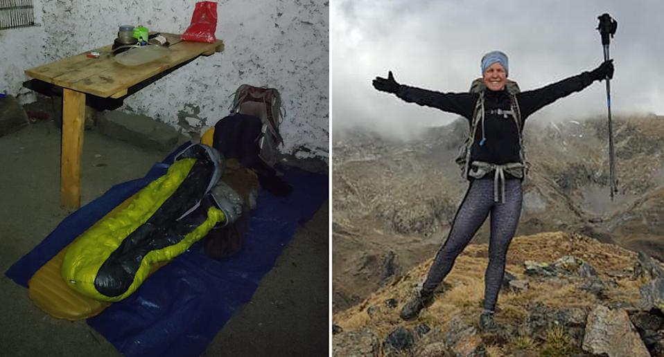 Photos from Esther Dingley's last known days before she went missing on a solo hike