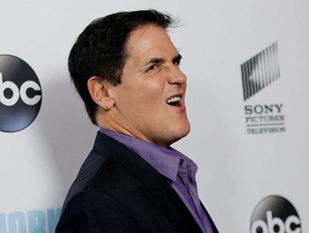 9bc1b7de5f8 Mark Cuban gets Schwifty with it. (Getty Images)