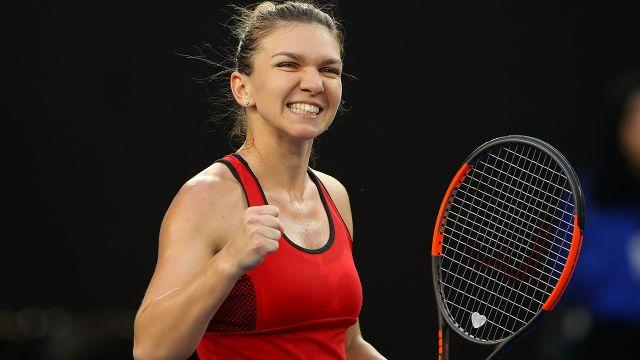 Can Halep break her grand slam duck? Image: Getty