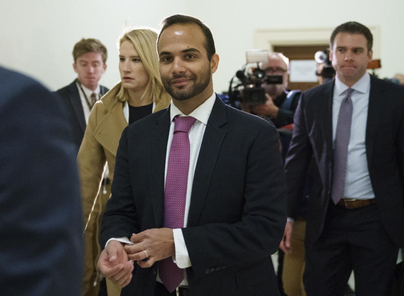 Papadopoulos, ex-Trump campaign adviser, headed to prison on Monday, judge rules