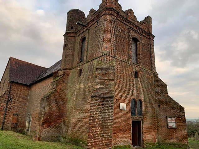 Damage to All Saints East Horndon