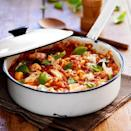 """<p><strong>Recipe: <a href=""""https://www.goodhousekeeping.com/uk/food/recipes/a535486/haddock-and-tomato-casserole/"""" rel=""""nofollow noopener"""" target=""""_blank"""" data-ylk=""""slk:Haddock and Tomato Casserole"""" class=""""link rapid-noclick-resp"""">Haddock and Tomato Casserole</a></strong></p>"""