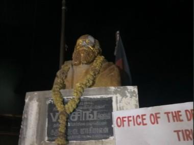 Statue vandalism leads to war of ideologies; BJP leaders call for 'swift, stern' action, Opposition cries foul